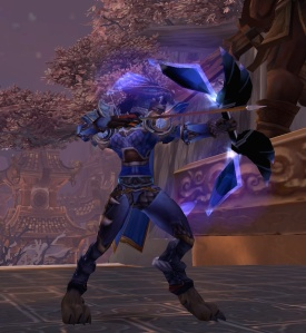 Transmog: bow in use