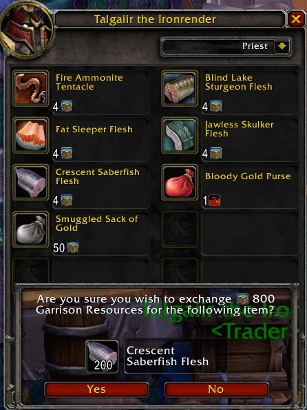 Trading Post: Fish day