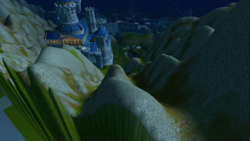 We can't go any further north - edge of the world at Stormwind