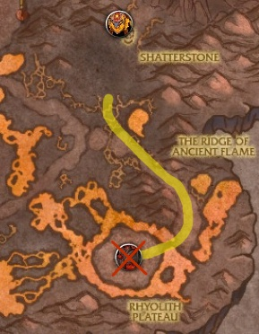 mounts-firelands-aly-route