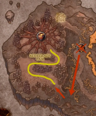 mounts-firelands-beth-route